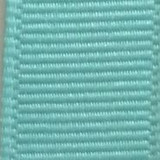 Aqua Solid Grosgrain Ribbon