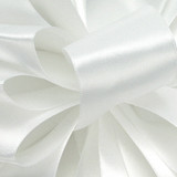 1/8 White Dainty Satin ribbon