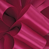 Azalea 1/8 Hot Pink Dainty Satin ribbon