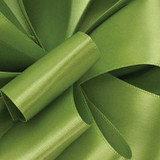 1/8 Lemon Grass Dainty Satin ribbon