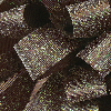 7/8 Brown Glitter Grosgrain available in 25 yd rolls.