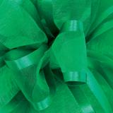 Emerald Pirouette Sheer / Satin Ribbon