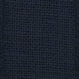 Navy Solid Burlap Ribbon