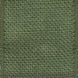 Moss Green Solid Burlap Ribbon