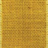 Yellow Wired Burlap Ribbon