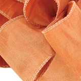 Anisha - Terra Cotta Wired Edge Ribbon
