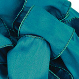 Anisha - Deep Teal Wired Edge Ribbon