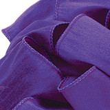 Anisha - Purple Wired Edge Ribbon