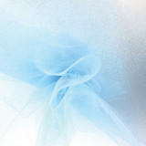 Sparkle Tulle Fabric - Blue
