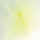 Sparkle Tulle Fabric - Light Yellow