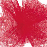 Solid Tulle Fabric - Red