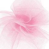 Solid Tulle Fabric - Pink