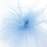 Solid Tulle Fabric - French Blue