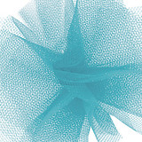 Solid Tulle Fabric - Turquoise