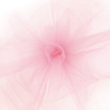 Solid Tulle Fabric - French Pink