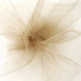 Solid Tulle Fabric -Antique Gold