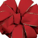 Berry Noble Wired Velvet Ribbon
