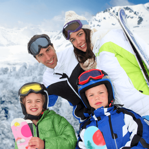 Skis, Boots, Bindings and Poles for the family