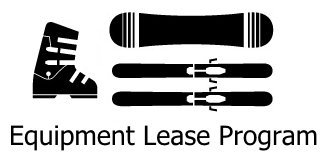 Ski and snowboard equipment lease