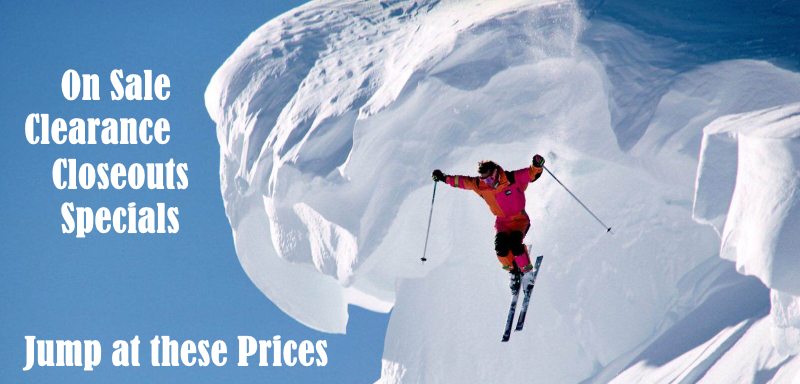 Ski Apparel and Equipment on Sale!