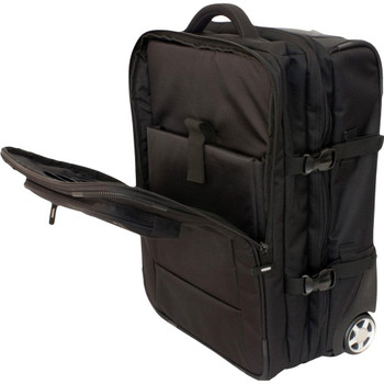 Transpack BUTTERFLY Rolling Carry-On Luggage has numerous compartments for your gear and laptop