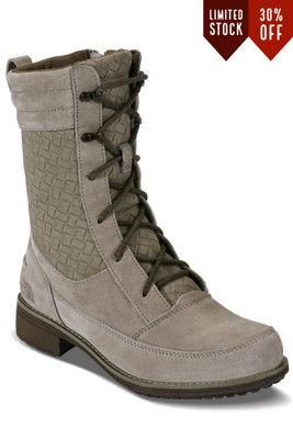 The North Face Bridgeton Lace Boot | Women's | Past Season | NF0A2T4F | NSZ | Split Rock Brown | Weimaraner