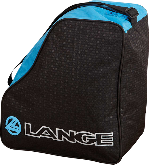 Heavy-duty single pair boot bag with shoulder carry strap. 600D PVC-coated polyester