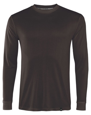Terramar Base Layer Crew Neck | Men's | Thermasilk | S481 in Black