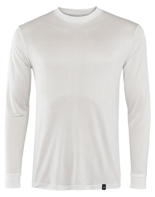 Terramar Base Layer Crew Neck | Men's | Thermasilk | S481 in Natural/off white