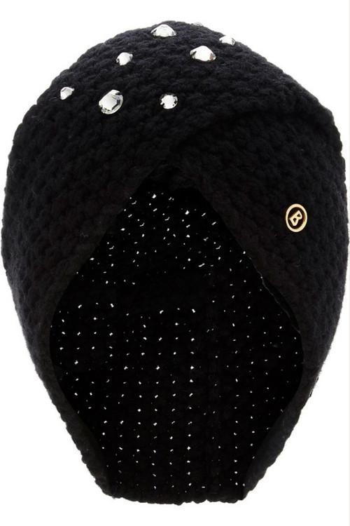 Bogner Ear Warmer   Women's Faizal   9159   Cashmere   Black