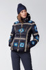 Bogner Down Ski Jacket | Women's Elena-D | 3164 | Navy | Styled