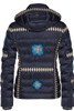 Bogner Down Ski Jacket | Women's Elena-D | 3164 | Navy | Back