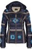 Bogner Down Ski Jacket | Women's Elena-D | 3164 | Navy | Front