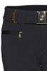 Bogner Ski Pants | Women's Luna | 1158 | Black | Front Belt Detail