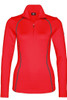 Bogner T-Neck | Women's Madita 1/4 Zip | 5156 | Red | Front