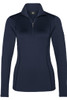Bogner T-Neck | Women's Madita 1/4 Zip | 5156 | Navy | Front