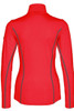 Bogner T-Neck | Women's Madita 1/4 Zip | 5156 | Red | Back