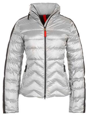 Fire & Ice Ski Jackets | Women's Danea-D in Metallic Silver | Goose Down | 3481