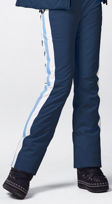 The Mica Ski Pants for ladies by Bogner's Fire and Ice, Indigo with a stripe