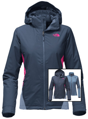 The North Face Ski Jacket | Women's Westridge Triclimate shown in Ink blue