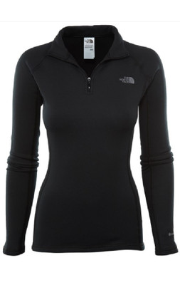 The North Face Base Layers | Women's Expedition Zip Neck | NF00CK22 in black