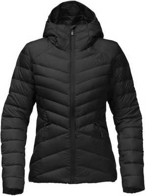 The North Face Women's Moonlight Down Jacket shown in TNF Black. NF0A34NU