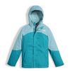 The North Face Girl's Mountain View Triclimate Jacket shown here in Nimbus Blue. NF0A34UW