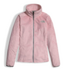 The North Face Girl's Osolita Triclimate Jacket shown here in Metallic Silver (Liner). NF0A34UM