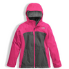 The North Face Girl's Osolita Triclimate Jacket shown here in Petticoat Pink. NF0A34UM