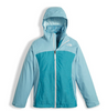 The North Face Girl's Osolita Triclimate Jacket shown here in Nimbus Blue. NF0A34UM