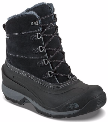 The North Face Women's Chilkat III Boots shown here in TNF Black/Zinc Grey. NF00CM69