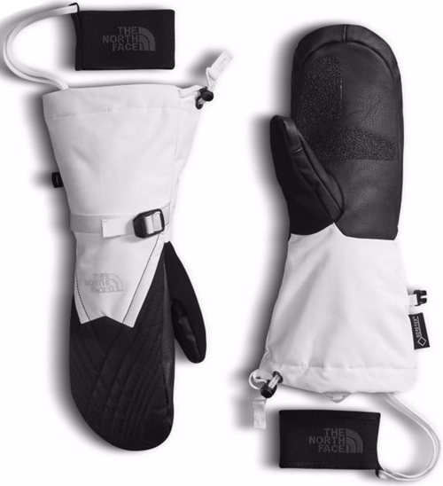The North Face Women's Montana Gore-Tex Mitts shown here in TNF White/TNF Black. NF0A334D