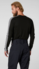 Helly Hansen Lifa Crewneck Top for Men | 48300, even from the back, it looks great.  Black