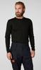 Helly Hansen Lifa Crewneck Top for Men | 48300 in black, looks great